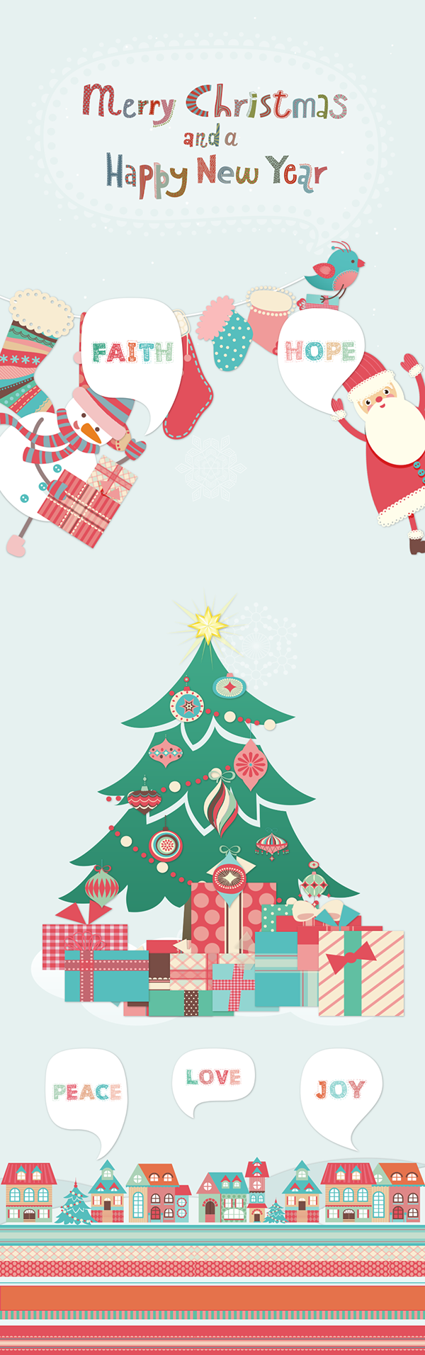 html5 christmas animation