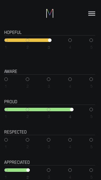 Mood Visualizer iOS App